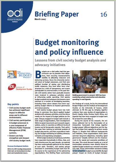 BudgetMonitoring