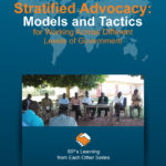 New Guide: Stratified Advocacy: Models and Tactics for Working Across Different Levels of Government