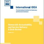 Democratic Accountability and Service Delivery: A Desk Review
