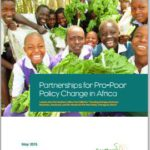 Partnerships for Pro-Poor Policy Change in Africa