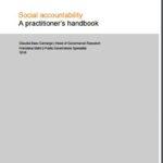 Social accountability</br>A practitioner's handbook